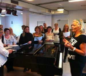 Julefrokost sang/underholdning med Pia Scharling